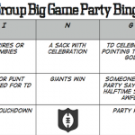 Super Bowl Youth Group Game Board