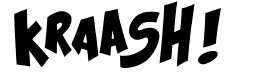 krash font for youth ministry