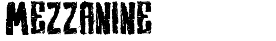 Mezzanine Font for Youth Ministry