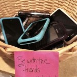 Cell Phone Basket | What to do with Cell Phones in Youth Group